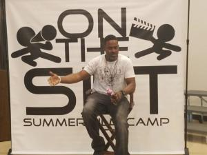 Lamman Rucker - 2018 On The Set Summer Film Camp Celebrity Mentor.